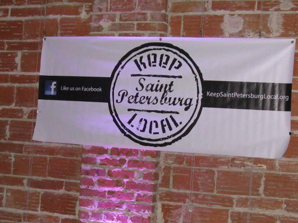 Keep Saint Petersburg Local launch party at Nova 535.