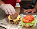 Five Guys opens at Newport on the Levee