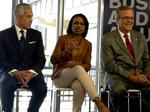Rice, Bush: Education is an economic development priority