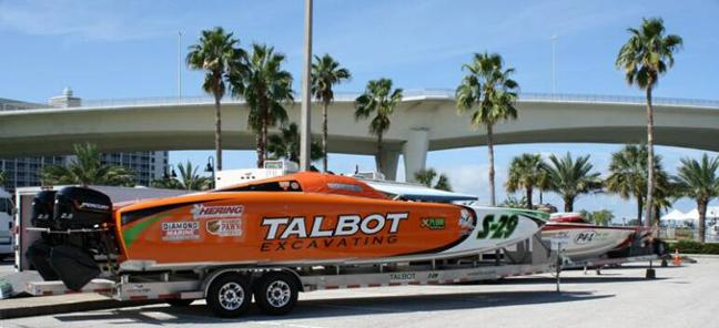 A scene from the  2011 Clearwater Super Boat National Championship and Seafood Festival.