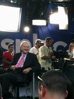 Mixed crowd shows for Hardball RNC taping at Channelside