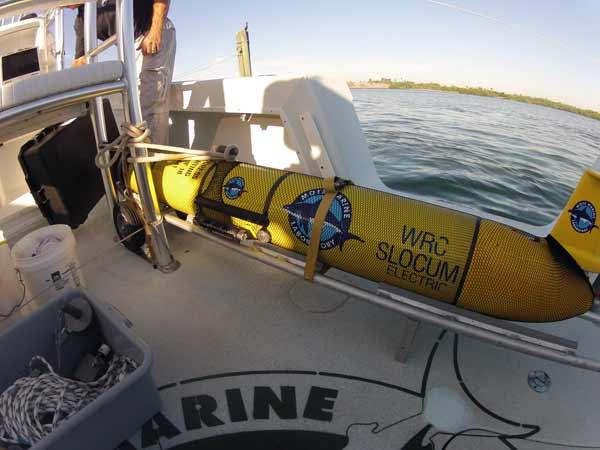 """Waldo"" is equipped with a Mote-designed instrument that detects Florida red tide algae."