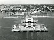 1973 pyramid Pier before grand opening
