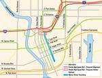 Downtown light rail plans up in the air