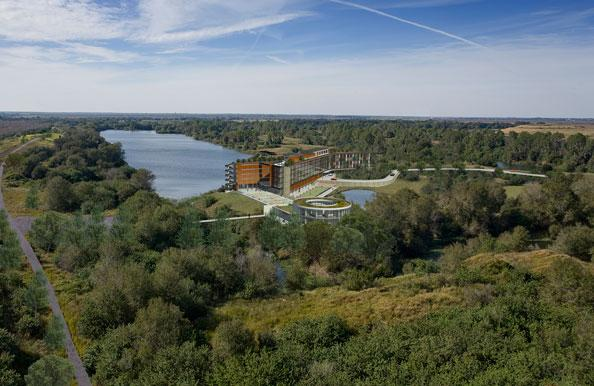 A rendering of Streamsong, The Mosaic Co.'s luxury resort planned for Polk County.