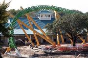 Cheetah Hunt, a new roller coaster under construction at Busch Gardens Tampa Bay