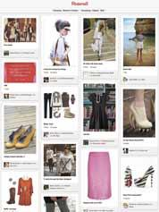 Pinterest is a photo sharing social media website where users can manage pinboard-style pages of things that are of interest to them.