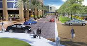 A conceptual rendering of the project slated to go up next to the Hillsborough River in downtown Tampa.