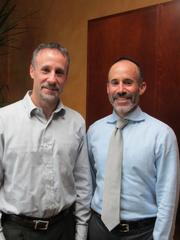 Mark Portnoy, left, shares CEO duties with his brother David Portnoy, who is also chairman.