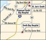 St. Joseph's South hospital now takes shape