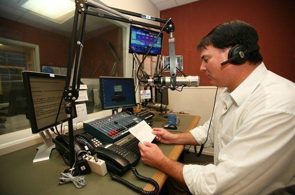 WWBA News 820 radio station's Steve Summers, afternoon news anchor