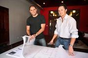 908 Development Group. Principal owners, Alex English and Justin Wilson with plans.