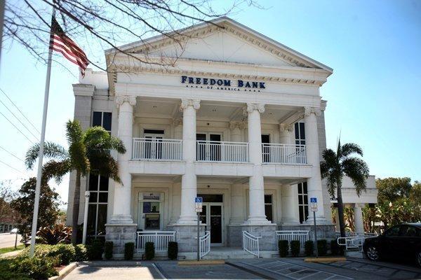 Freedom Bank of America in St. Petersburg.