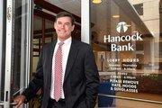 Eric Obeck, regional president of Hancock Bank