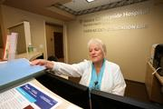 Elaine Holley, cath lab administrative assistant at Mease Countryside Hospital.