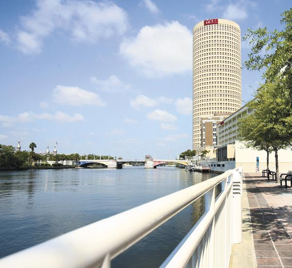 Sykes building in downtown Tampa