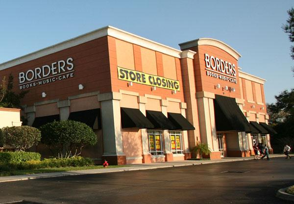 Borders on Dale Mabry and Cypress in Tampa is closing.