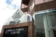 The Wells Fargo Center at 100 S. Ashley Drive.