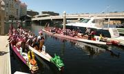 2011 Tampa International Dragon Boat Races in the Garrison Channel in downtown Tampa.