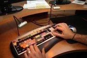 Caputo Creative in Largo. Edit suite.