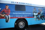 Florida Blood Services' bloodmobile in Clearwater.