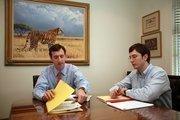 Falcon Affiliates' William Krusen, president and Keith Irvine, associate