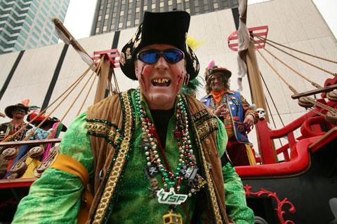 The Gasparilla Pirate Fest is one of many Tampa-area events featured in the Outback Bowl Preview Special.