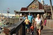 John's Pass Seafood Village boardwalk.