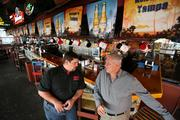 Centro Cantina's Robert Rosenfeld, general manager, and Joe Vigliarolo, owner, at the restaurant.