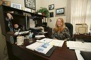 Tampa Crossroads' Sara Romeo, executive director, in her Tampa office.