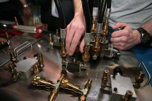 Manufacturing outlook is positive for 2013, according to a new survey.