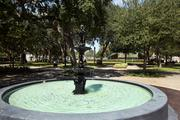 William's Park, across the street from the Princess Martha in downtown St. Petersburg