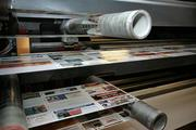 Press run of coupons at Valpak in Largo.