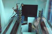 A look inside the robotic machinery that retrieves material from the deep freeze.