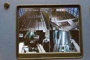 Camera feeds show the inside of Nexus Biostore freezers.