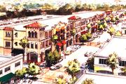 Rendering of downtown Temple Terrace development project