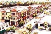 Rendering of downtown Temple Terrace development project