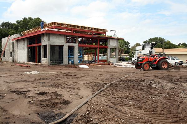 Construction of PDQ along Dale Mabry Highway