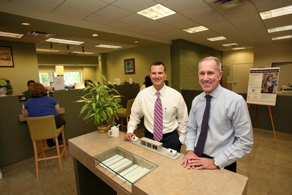 Pilot Bank's Chris Willman and Roy Hellwege