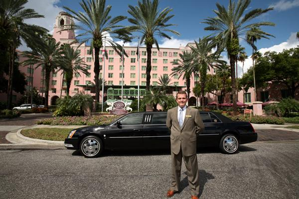 Ken Lucci, president and CEO of Ambassador Limousine