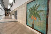Renovations to the airport including the entrance and hallways at the St. Petersburg-Clearwater International Airport.