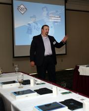 Stuart Brown, partner with Accenture, speaks about iPads and the Rays.