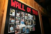 The Wall of Pain at Rapscallions has photos of patrons who ate 10 parrot wings with Davy Jones Challenge hot sauce, nothing to drink and no sides.