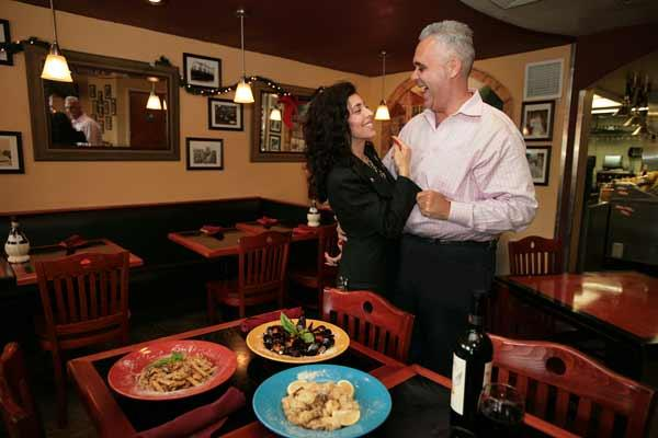 Rigatoni's Rick and Sonia Barcena have reopened the restaurant after a slowdown.