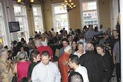 The opening of Carne ChopHouse drew a big crowd to the El Centro Espanol building in Ybor City in 2012.