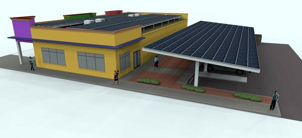 Rendering of planned medical facility at 1950 Central Ave., St. Petersburg