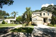 A two-story Shimberg Homes house recently was built on West Kensington Avenue in Tampa.