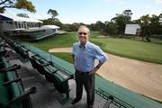 avid Robbins, general chairman of  Copperhead Charities Inc., on Innisbrook's Copperheads golf course where the Transitions Golf Championship will take place.