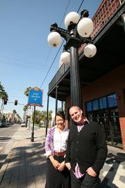 Randy Rosenthal and his wife, co-owner and partner of Tricycle Studios, Tona Bell.