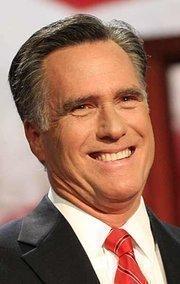 Presidential nominee Mitt Romney